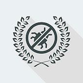 Premium antivirus flat icon