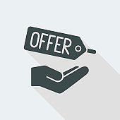 Promotional offer label icon