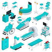 Medical equipment vector clinic technology healthcare treatment
