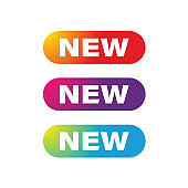 New web button set