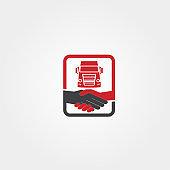Truck transportation Technology icon