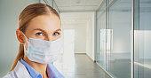 Virus treatment concept. Quarantine.