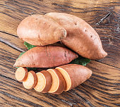 Sweet potatoes.