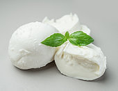 Traditional Italian mozzarella cheese with herbs.