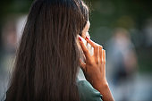 Young indian businesswoman on the phone