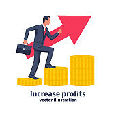 Increase profits concept.