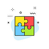 Creativity and Idea web icons in line style. Creativity, Finding solution, Brainstorming, Creative thinking, Brain. Vector illustration.