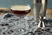 Homemade Alcoholic Espresso Martini