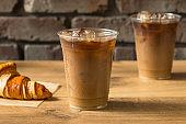 Sweet Iced Almond Milk Coffee