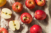 Raw Red Organic Gala Apples