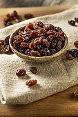 Organic Dried Brown Raisins