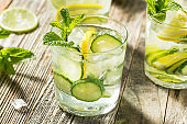 Healthy Fresh Cucumber Water