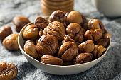 Organic Shelled Roasted Chestnuts