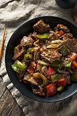 Homemade Chinese Pepper Steak