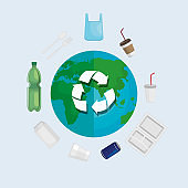 ecology recycle of toxic plastics around the world
