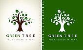 Tree design vector.