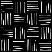 Seamless random scribble pattern