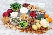 Vegan Health Food Selection
