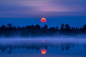 Marl Lake Cherry Sunrise