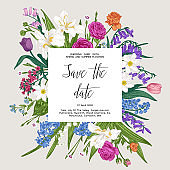Botanical card.