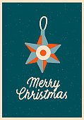 Christmas winter holiday card