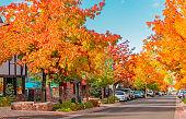Autumn Village at  Big Bear Lake, San Bernardino, Ca (P)