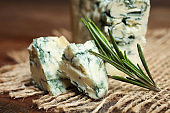 Blue cheese, Dor Blue with rosemary