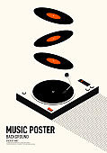 Music & Movie retro poster