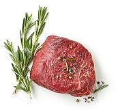 fresh raw beef fillet steak