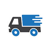 Quick shipping icon