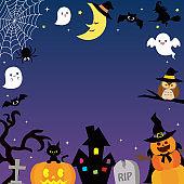 Halloween frame3