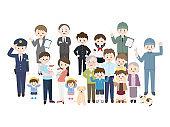 Various people1