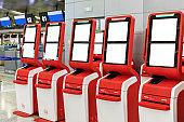 Self Check In Machine in Airport