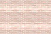 Seamless design vintage style light pastel red brown tone brick wall detailed pattern textured background