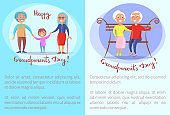 Happy Grandparents Day Senior Couples Collection