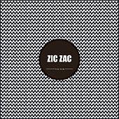 Zig, zag vector, chevron, black and white, tile pattern
