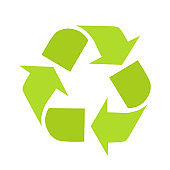 Green Recycle Symbol