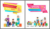 Premium Quality and Special Discount Sale Banner