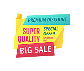 Big Sale and Super Quality Promotion Action Poster