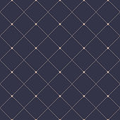 Geometric pattern with lines, seamless vector background