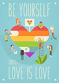 Lgbt People Community Poster