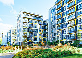 Apartment EU house residential building real estate outdoor