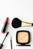 Make-up inspiration in a beauty blog