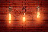 Decorative edison light bulb