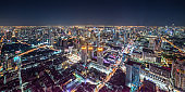 Bangkok Cityscape at Night