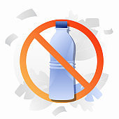 No Plastic Bottle Sign