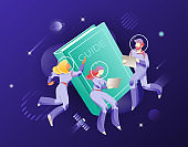 Guide Book and Astronauts