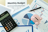 Finance Data analyzing with calculator  Economy Investment planning budget