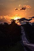 Road to sunshine