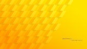 Abstract yellow geometric background. Modern design background for cover design, poster, banner.